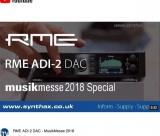 RME ADI-2 DAC uma estrela Super Hi-Fi na conversão D - A