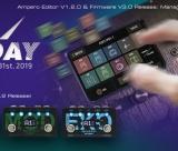 Novo firmware para Ampero (V3.0) e editor (1.2.0)