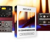 Arturia anuncia 3 novos compressores que vais querer usar