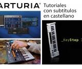 Tutoriais Arturia KEYSTEP 37 com legendas em Português