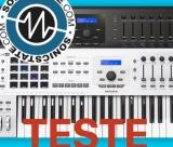 Teste da Sonic State ao Arturia Keylab MK2