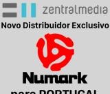 NUMARK distribuição exclusiva para Portugal por ZentralMedia