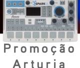 Promo Arturia Spark LE com oferta de 4 bancos de Sons