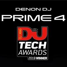 Denon DJ Prime 4 Arrebata o Tech Award para Inovação