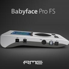 Anunciada a nova RME BABYFACE PRO FS