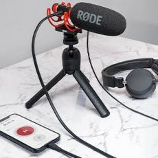 Como Ligar o RØDE VIDEOMIC NTG a dispositivos iOS
