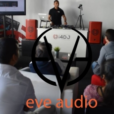 Formação CI4DJ com Eve Audio SC207 e SC205