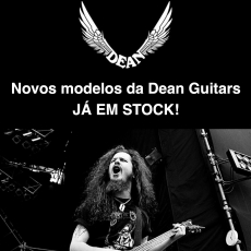 Novos modelos da Dean Guitars JÁ nas LOJAS