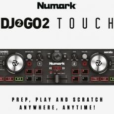 Uma questão de toque Numark DJ 2 Go 2 TOUCH