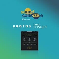 Sound collective simple concept Krotos