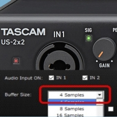 Novos Drivers Windows para os Interfaces Audio TASCAM